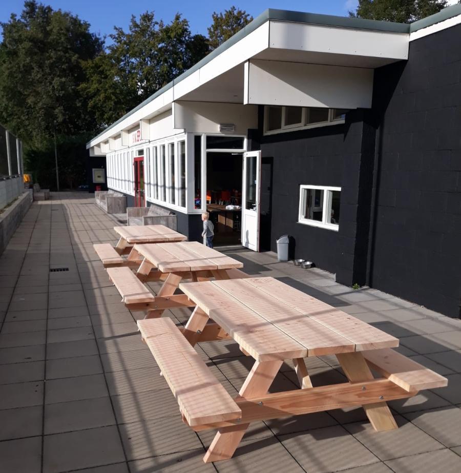 geplaatste tafels